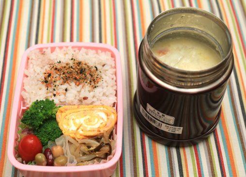鶏と白菜の豆乳スープ弁当